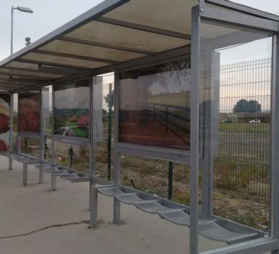 Mini Terminal Modular de Abrigo de Ônibus Premium (1)